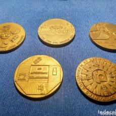 Medallas temáticas: LOTE MEDALLAS TELEFONICA. Lote 172908030