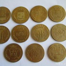 Medallas temáticas: LOTE DE 11 MEDALLAS DE LA PROVINCIA DE VALENCIA. Lote 173880742