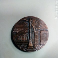 Medallas temáticas: MEDALLA COBRE - GRUESA - EXPO BARCELONA MEDICINA ASAMBLEA F,A.E.D.A.S.1973 STA CRUZ DE S PABLO HOSPI. Lote 174192069