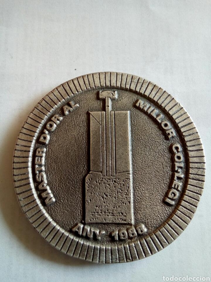Medallas temáticas: MEDALLA DE COLLEGI OFICIAL AGENTS COMERCIALS DE GIRONA I PROVINCIA AÑO 1988 - Foto 2 - 174454144