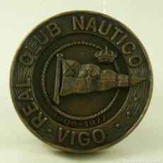 Medallas temáticas: GRAN MEDALLA DEL REAL CLUB NAUTICO DE VIGO BARCOS 1977 75MM!!. Lote 174588728