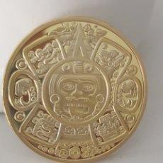 Medallas temáticas: ESPECTACULAR MONEDA DE ORO MAYA EDICIÓN LIMITADA. Lote 175938077