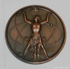 Medallas temáticas: MEDALLA UNIÓN ELÉCTRICA MADRILEÑA.1968. CENTRAL NUCLEAR JOSÉ CABRERA (ZORITA). JUAN DE ÁVALOS. MIDE . Lote 176056724