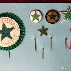 Medallas temáticas: ESPERANTO CONJUNTO PINS MEDALLA CONGRESO 1908. Lote 177026184