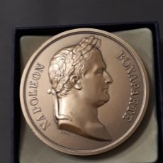 Medallas temáticas: MEDALLA BICENTENARIO BATALLA DE WATERLOO . Lote 177318723