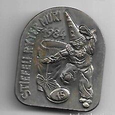 Medallas temáticas: ANTIGUA MEDALLA MILITAR SUIZA 1984. Lote 177824108