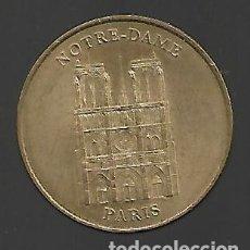 Medallas temáticas: ANTIGUA MEDALLA MONEDA DE PARIS MILLENIUM EDICION LIMITADA NOTRE-DAME 2001. Lote 177827070