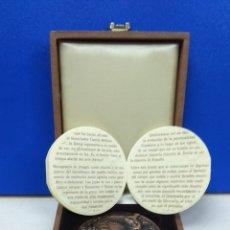 Medallas temáticas: IMPRESIONANTE MEDALLA EN CAJA ORIGINAL CAMARA DE COMERCIO CENTENARIO. Lote 178129502