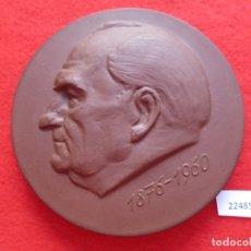 Medallas temáticas: MEDALLA CERAMICA DE MEISSEN ALEMANIA, DDR RDA WILHELM PIECK GUBEN, PORCELANA. Lote 178620571