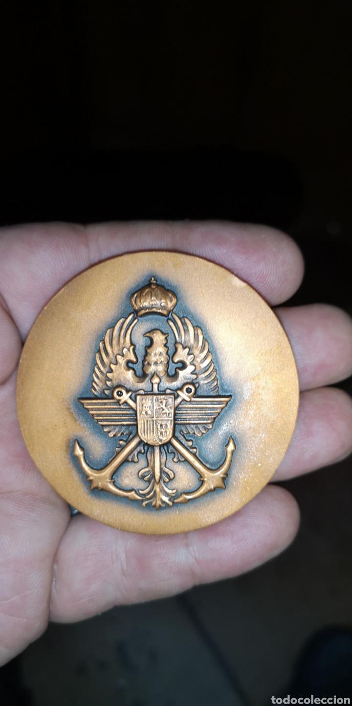 Medallas temáticas: Medalla conmemorativa segunda muestra de miniaturas militares Fuerzas Armadas 1983 - Foto 2 - 178640040