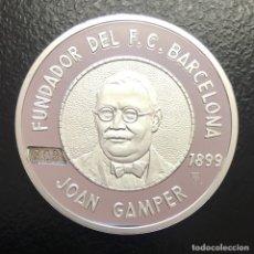 Medallas temáticas: MEDALLLA FC BARCELONA. Lote 178857802