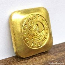 Medallas temáticas: EXCLUSIVO LINGOTE DE ORO DE 24 KILATES - EDICIÓN LIMITADA -. Lote 178868983