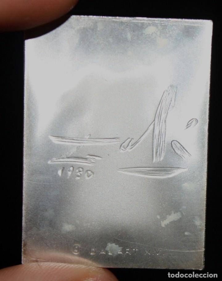 Medallas temáticas: ESTUCHE CON 3 MEDALLONES DE PLATA DE DALÍ TITULADO ADAN, EVA Y EL PECADO ORIGINAL. AÑO 1981 - Foto 9 - 178869996