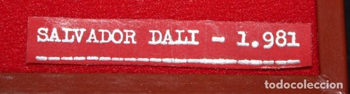 Medallas temáticas: ESTUCHE CON 3 MEDALLONES DE PLATA DE DALÍ TITULADO ADAN, EVA Y EL PECADO ORIGINAL. AÑO 1981 - Foto 15 - 178869996