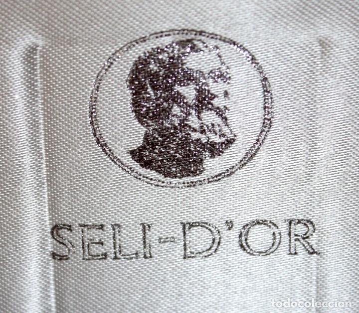 Medallas temáticas: ESTUCHE CON 3 MEDALLONES DE PLATA DE DALÍ TITULADO ADAN, EVA Y EL PECADO ORIGINAL. AÑO 1981 - Foto 16 - 178869996