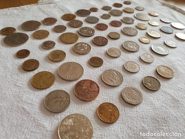 LOTE DE 59 MONEDAS EXTRANGERAS. BE (Numismática - Medallería - Temática)
