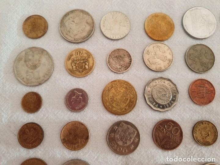 Medallas temáticas: Lote de 59 monedas extrangeras. BE - Foto 5 - 179007742
