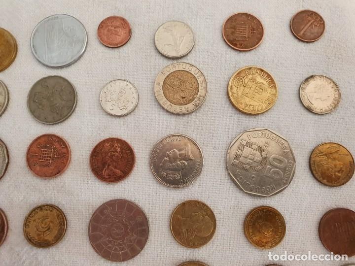 Medallas temáticas: Lote de 59 monedas extrangeras. BE - Foto 6 - 179007742