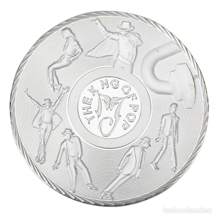Medallas temáticas: LOTE 12 MONEDAS CONMEMORATIVAS MICHAEL JACKSON REY DEL POP - EDICION LIMITADA - Foto 2 - 179118587