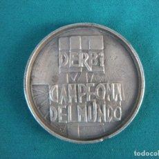 Medallas temáticas: MEDALLA MOTO DERBI CAMPEONA DEL MUNDO. Lote 179342111