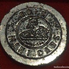 Medallas temáticas: FICHA DE MINICARS. Lote 180037248