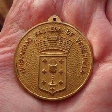 Medallas temáticas: MEDALLA HERMANDAD GALLEGA DE VENEZUELA . Lote 181599783