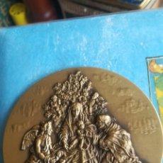 Medallas temáticas: MEDALLON DE BRONCE CONMEMORATIVO, NAVIDAD DE 2006. Lote 182004147