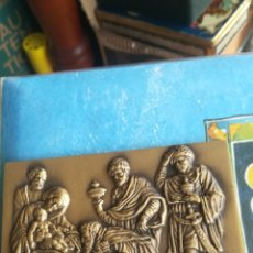 Medallas temáticas: MEDALLON DE BRONCE CONMEMORATIVO, NAVIDAD DEL AÑO 2000. Lote 182004381