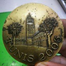 Medallas temáticas: MEDALLA TUNIS 2003 UNION INTERNACIONAL DES HUISSIERS DE JUSTICE ET OFFICIERS JUDICIAIRES UIHJ. Lote 182308892