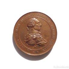 Medallas temáticas: MEDALLA CARLOS III.- CENTENARIO DE LA ESCUELA DE MINAS DE MADRID - 1877. Lote 182492125