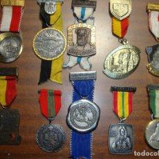 Medallas temáticas: OPORTUNIDAD ANTIGUA COLECCION DE MEDALLAS TEMATICAS. Lote 182526482