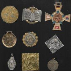 Medallas temáticas: OPORTUNIDAD ANTIGUA COLECCION DE MEDALLAS TEMATICAS. Lote 183003906