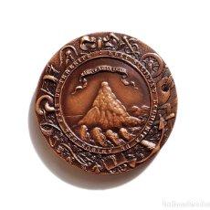 Medallas temáticas: REAL SOCIEDAD ECONÓMICA DE AMIGOS DEL PAÍS DE TENERIFE. 200 AÑOS FUNDACIÓN DE LA ENTIDAD.. Lote 183023673