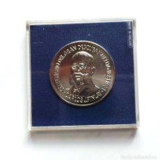Medallas temáticas: MEDALLA CENTENARIO DEL GRAN DESCUBRIMIENTO CUBA.1881-1891. CARLOS J.FINLAY. REPÚBLICA DE CUBA.. Lote 183088193