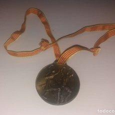 Medallas temáticas: MEDALLA. BARBASTRO, RECORD GUINNESS DE BAILE JOTA ARAGONESA, 13-14 JUNIO 1998. Lote 183201725