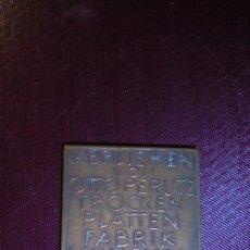 Medallas temáticas: ANTIGUA MEDALLA 1931 - VERLIEHEN VON OTTO PERUTZ TROCEN PLATTEN FABRI MUNCHEN G.M.B.H. . Lote 183315262