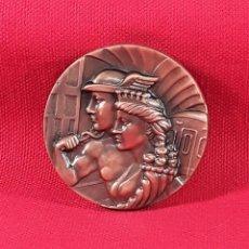 Medallas temáticas: MEDALLA EN BRONCE. 50 ANIVERSARIO 1924-1974. F.C. METROPOLITANO. BARCELONA S.A.. Lote 183387871