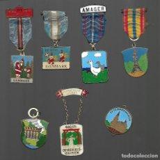 Medallas temáticas: OPORTUNIDAD ANTIGUA COLECCION DE MEDALLAS TEMATICAS MUY BUENA CALIDAD. Lote 183705513