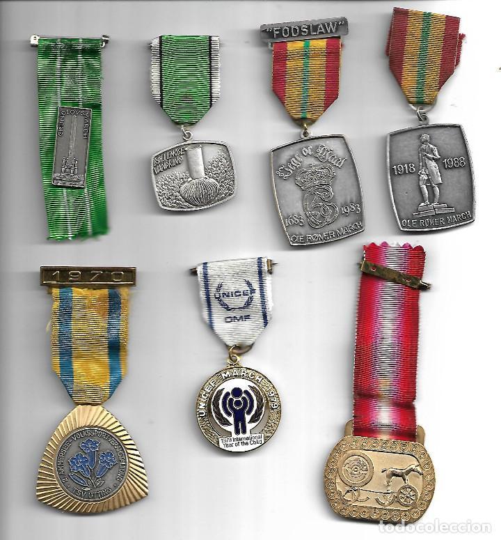 OPORTUNIDAD ANTIGUA COLECCION DE MEDALLAS TEMATICAS MUY BUENA CALIDAD (Numismática - Medallería - Temática)