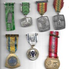Medallas temáticas: OPORTUNIDAD ANTIGUA COLECCION DE MEDALLAS TEMATICAS MUY BUENA CALIDAD. Lote 183706112