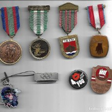 Medallas temáticas: OPORTUNIDAD ANTIGUA COLECCION DE MEDALLAS TEMATICAS MUY BUENA CALIDAD. Lote 183706951