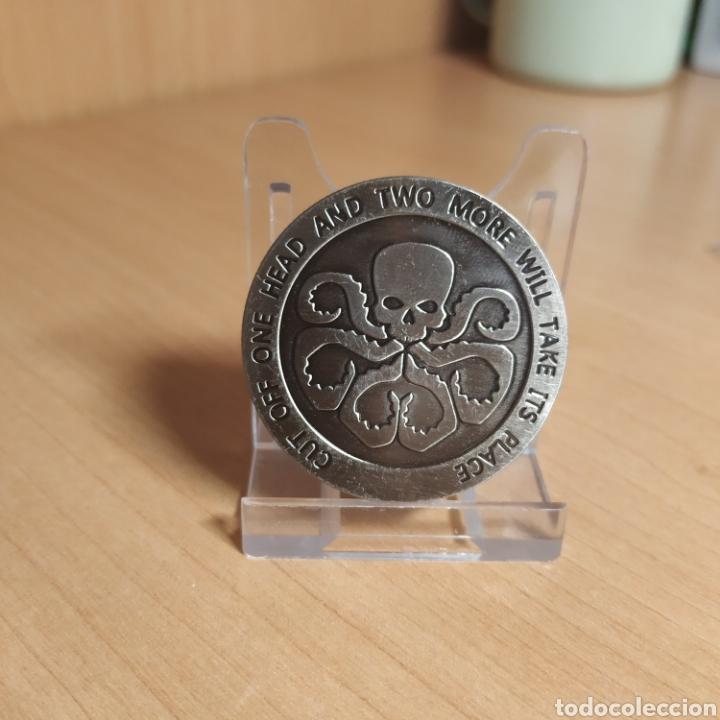 MONEDA AVENGERS HYDRA MARVEL AGENTS OF SHIELD - MEDALLA DOBLE CARA (Numismática - Medallería - Temática)