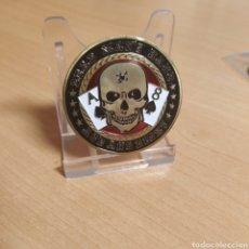 Medallas temáticas: MONEDA TOKEN POKER DE LA SUERTE MANO DEL MUERTO AS 8 PICAS. Lote 183772368