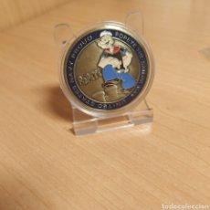 Medallas temáticas: MONEDA MEDALLA POPEYE UNITED STATES NAVY. Lote 183772620