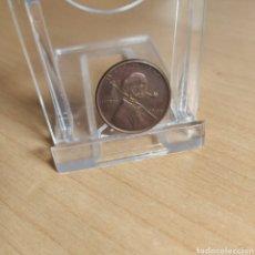 Medallas temáticas: MONEDA / MEDALLA FANTASÍA HOBO NIKEL - 1909 LIBERTY 1 CENTAVO USA ONE CENT LINCOLN. Lote 183774095