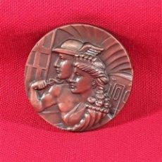 Medallas temáticas: MEDALLA EN BRONCE. 50 ANIVERSARIO 1924-1974. F.C. METROPOLITANO. BARCELONA S.A.. Lote 183774396