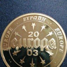 Medallas temáticas: 2003 PORTUGAL MEDALLA EUROPA. Lote 184500865