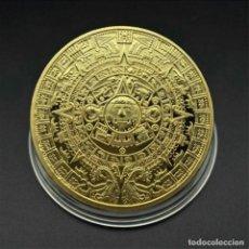 Medalhas temáticas: PRECIOSA MONEDA ORO AZTECA. Lote 244190980