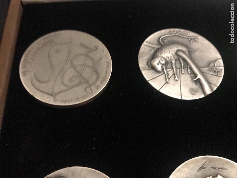 Medallas temáticas: Medallas plata Dalí Horóscopos - Foto 2 - 184789578