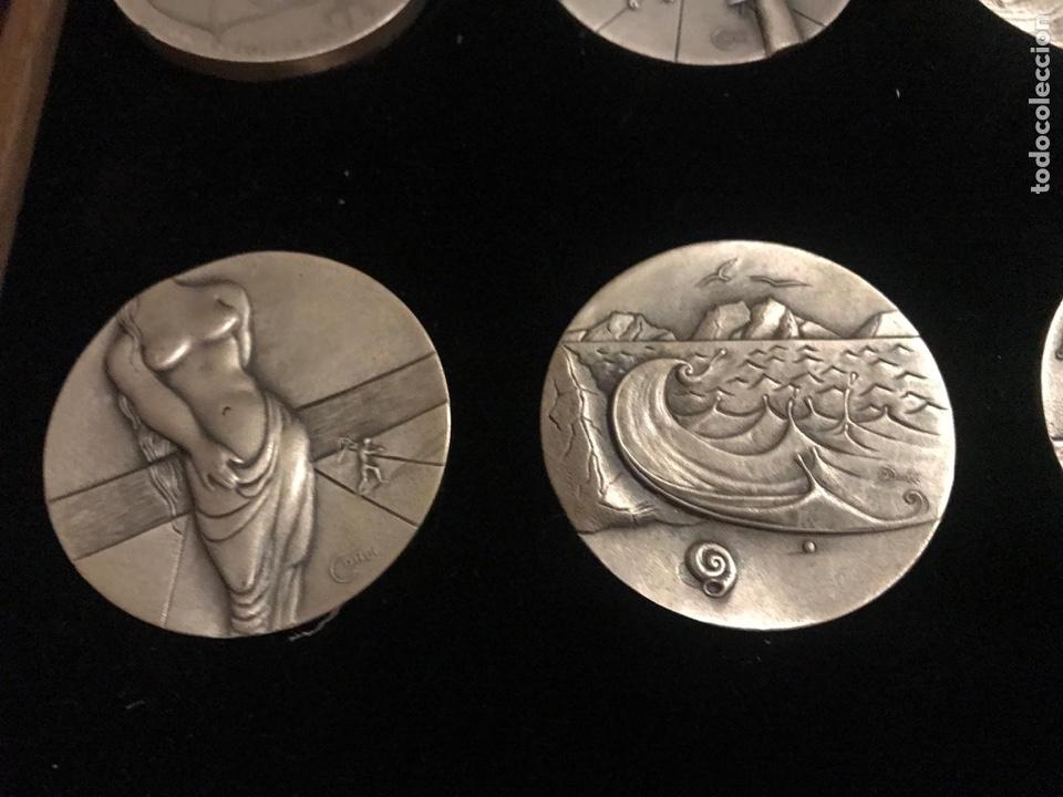 Medallas temáticas: Medallas plata Dalí Horóscopos - Foto 4 - 184789578